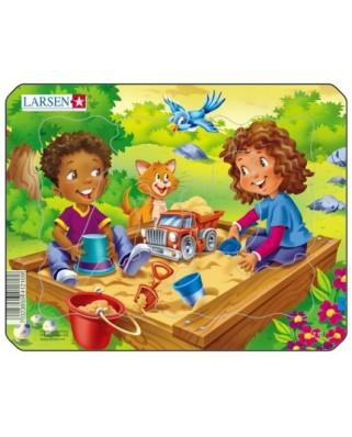 Puzzle Larsen - Playground, 7 piese (48481)