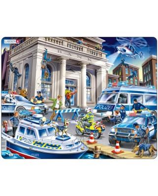 Puzzle Larsen - Police, 43 piese (48710)