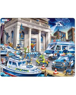 Puzzle Larsen - Police, 43 piese (63371)