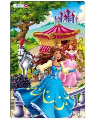 Puzzle Larsen - Princesses, 11 piese (48561)