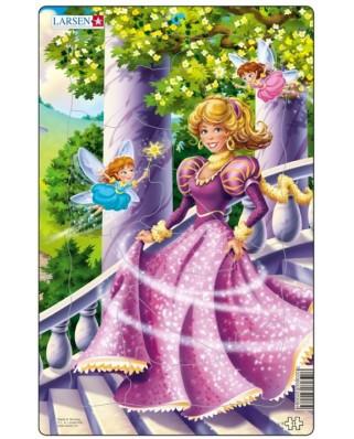 Puzzle Larsen - Princesses, 11 piese (48562)