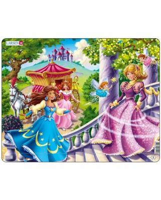 Puzzle Larsen - Princesses, 24 piese (48725)