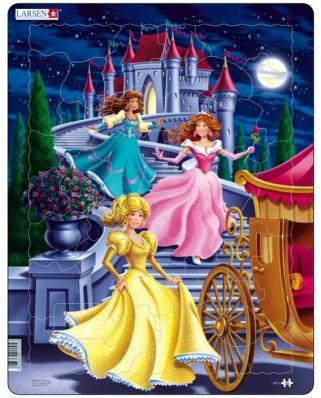 Puzzle Larsen - Princesses, 35 piese (48723)