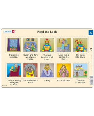 Puzzle Larsen - Read and Look 19-20, 2x10 piese (48603)