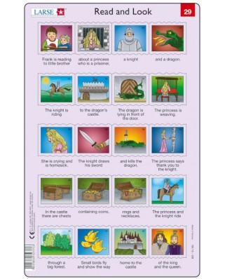 Puzzle Larsen - Read and Look 29-30, 2x20 piese (48613)