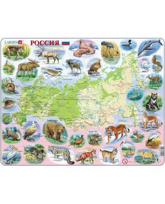 Puzzle Larsen - Russia (in Russian), 100 piese (48533)
