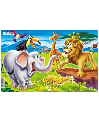 Puzzle Larsen - Safari, 14 piese (48567)