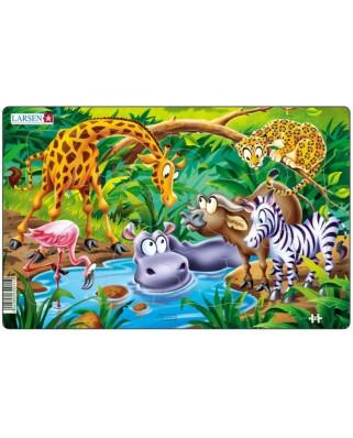 Puzzle Larsen - Safari, 14 piese (48568)