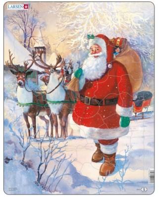 Puzzle Larsen - Santa Claus, 50 piese (59501)