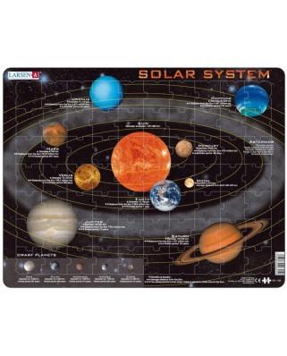 Puzzle Larsen - Solar System, 70 piese (59565)