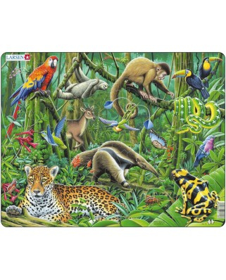 Puzzle Larsen - South American Rainforest, 70 piese (48413)