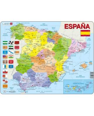 Puzzle Larsen - Spain, 70 piese (48636)