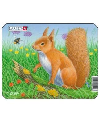 Puzzle Larsen - Squirrel, 5 piese (50875)