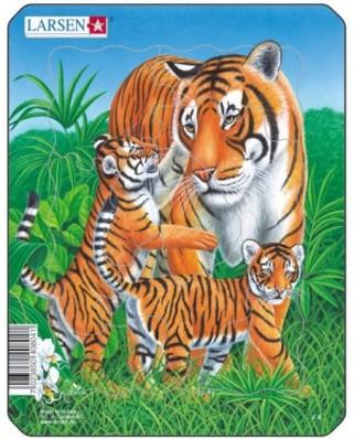 Puzzle Larsen - Tiger, 8 piese (48471)