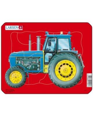 Puzzle Larsen - Tractor, 10 piese (48496)