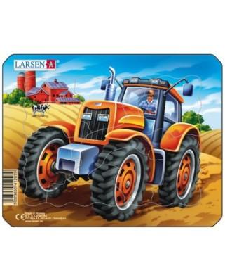 Puzzle Larsen - Tractor, 8 piese (48492)