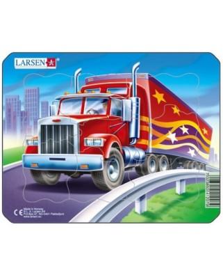 Puzzle Larsen - Truck, 8 piese (48490)