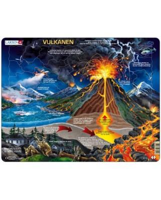 Puzzle Larsen - Vulkanen (in Dutch), 70 piese (59546)