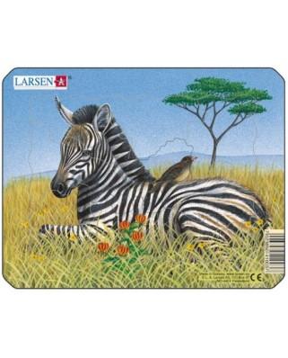 Puzzle Larsen - Zebra, 9 piese (48515)