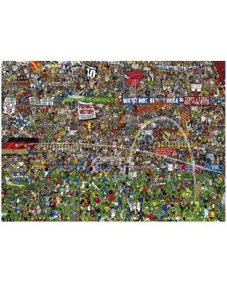 Puzzle Heye - Alex Bennett: Football History, 3.000 piese (47075)