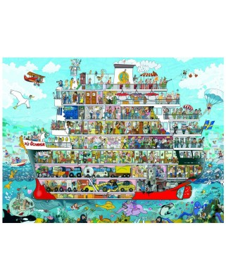 Puzzle Heye - Anders Lyon: Cruise, 1.500 piese (49491)