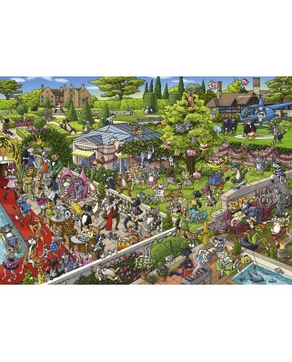 Puzzle Heye - Birgit Tanck: Party Cats, 1.000 piese (63222)