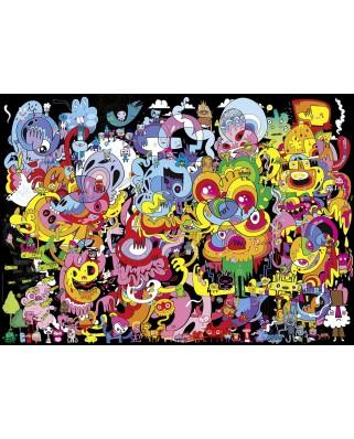 Puzzle Heye - Burgerman: New Psychedoodlic, 2.000 piese (57725)