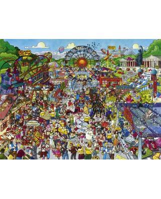 Puzzle Heye - Christoph Schone: Oktoberfest, 1.500 piese (63226)