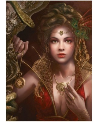 Puzzle Heye - Cris Ortega: Gold Jewelry, 1.000 piese (43648)