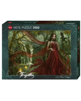 Puzzle Heye - Cris Ortega: New Red, 2.000 piese (63217)