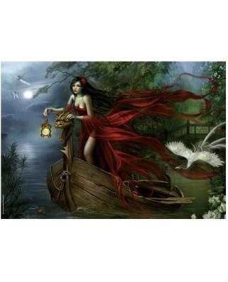 Puzzle Heye - Cris Ortega: The Swan, 1.000 piese (6087)
