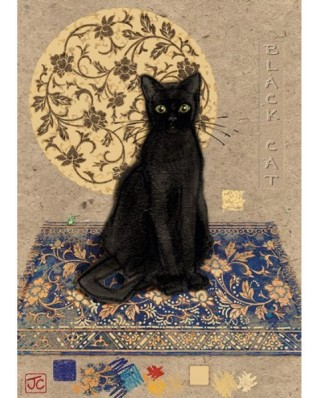Puzzle Heye - Crowther, Black Cat, 1.000 piese (57723)