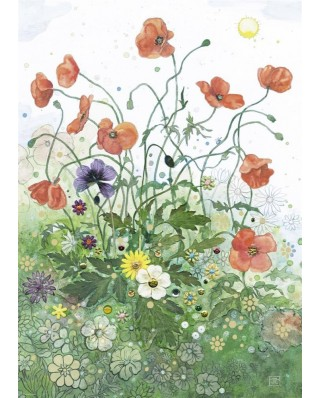 Puzzle Heye - Crowther, Red Poppies, 1.000 piese (57732)