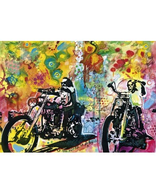 Puzzle Heye - Dean Russo: Easy Rider, 1.000 piese (63203)