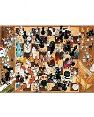 Puzzle Heye - Degano Sophie: Black or White, 1.000 piese (231)