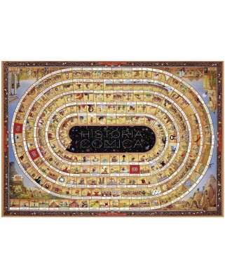 Puzzle Heye - Degano Sophie: The Spiral of History - Opus 1, 4.000 piese (4955)