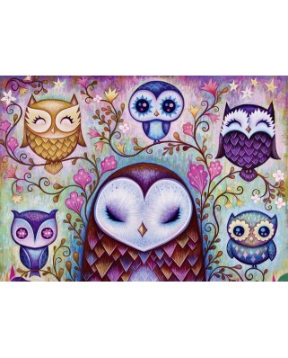 Puzzle Heye - Dreaming, Great Big Owl, 1.000 piese (57726)