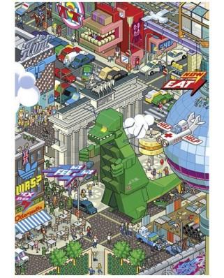 Puzzle Heye - EBoy : Berlin, 150 piese (41220)
