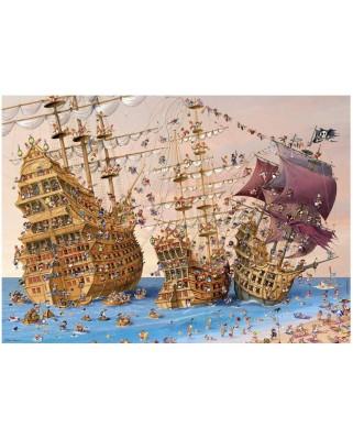 Puzzle Heye - Francois Ruyer: Corsairs, 1.000 piese (40739)