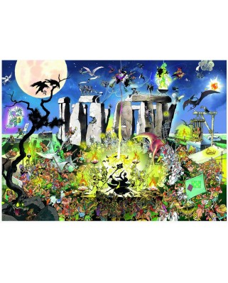 Puzzle Heye - Giuseppe Calligaro: Mystic Circle, 1.000 piese (51824)