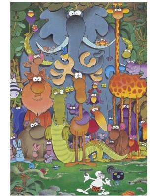 Puzzle Heye - Guillermo Mordillo: Cheers !, 1.000 piese (3854)