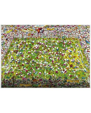 Puzzle Heye - Guillermo Mordillo: Crazy World Cup, 4.000 piese (220)