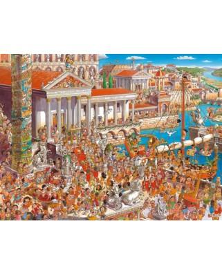 Puzzle Heye - Hugo Prades: Ancient Rome, 1.500 piese (57747)