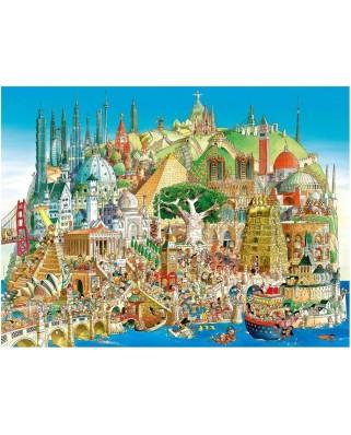 Puzzle Heye - Hugo Prades: Global City, 1.500 piese (43654)
