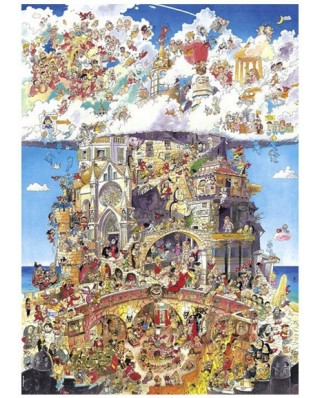 Puzzle Heye - Hugo Prades: Heaven and Hell, 1500 piese (525)