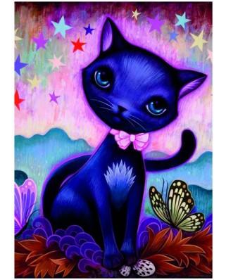 Puzzle Heye - Jeremiah Ketner: Black Kitty, 1.000 piese (49483)