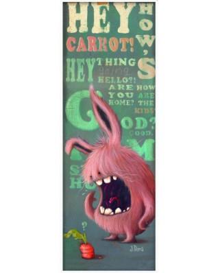 Puzzle Heye - Johan Potma: Carrot, 1.000 piese (51815)