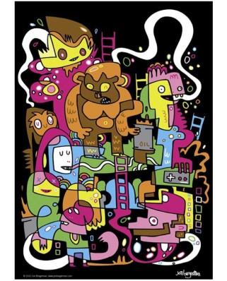 Puzzle Heye - Jon Burgerman: Best score, 150 piese (41218)