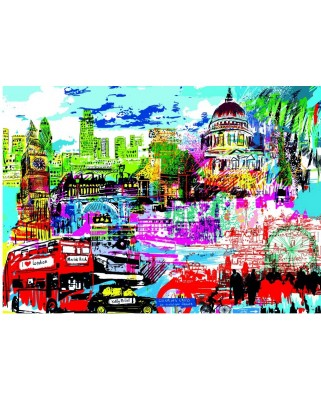 Puzzle Heye - Kitty McCall: I Love London!, 1.000 piese (49478)