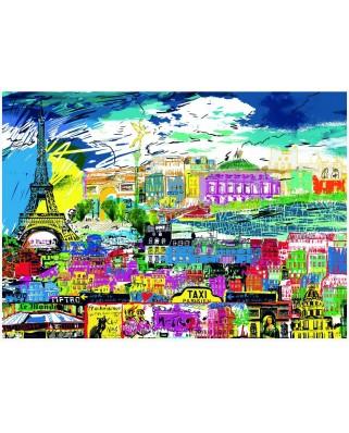 Puzzle Heye - Kitty McCall: I love Paris!, 1.000 piese (51814)